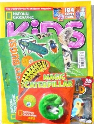 National Geographic Kids Magazine Issue June 2018 ~ New Sealed With Gifts ~