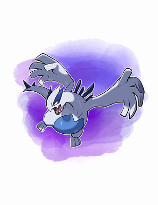 Ultra Pokemon Sun and Moon Year of the Legendary 2018 Lugia 6IV-EV Trained