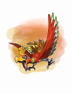 Ultra Pokemon Sun and Moon Year of the Legendary 2018 Ho-Oh 6IV-EV Trained