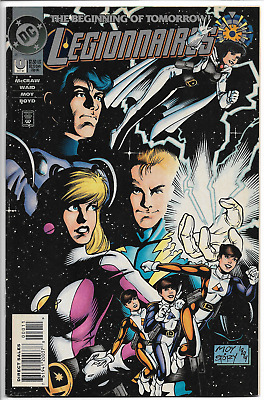 Legionnaires 0 VF+/VF 1st Appearance of XS (Daughter of Flash; CW TV show) Key