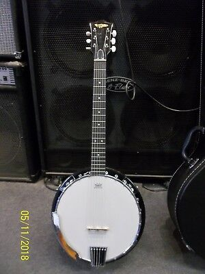 Countryman TCB24-6 6 string banjo. Guitar tuning. Padded gigbag. New. Waranteed