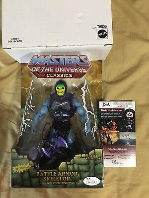 Motu Classics Battle Armor Skeletor Signed Alan Oppenheimer COA