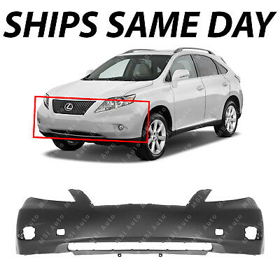 NEW Primered Front Bumper Cover Replacement for 2010 2011 2012 Lexus RX350 11-12