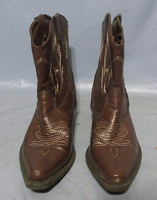 8f0f5fe192b SO WESTERN BOOTS, KOHL'S Brown Man-made Materials SolylaBrown Cowboy Boots  5M