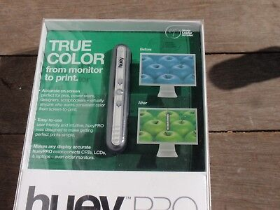 Pantone True Color From Monitor To Print Xrite Huey Pro Advanced  Used Once