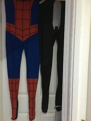 Spiderman And Venom Costumes Size Xs
