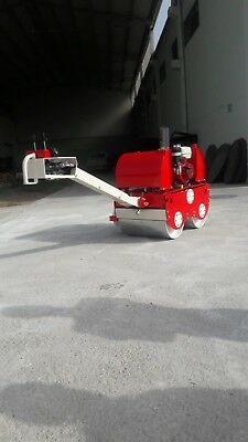Walk Behind Double Drum Roll Vibrating Tandem Rollers
