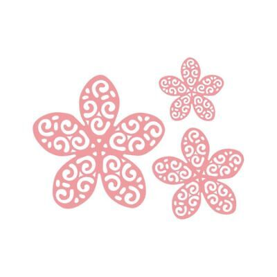 3D Hollow Flower Cutting Dies Stencil DIY Scrapbook Paper Card Embossing Craft