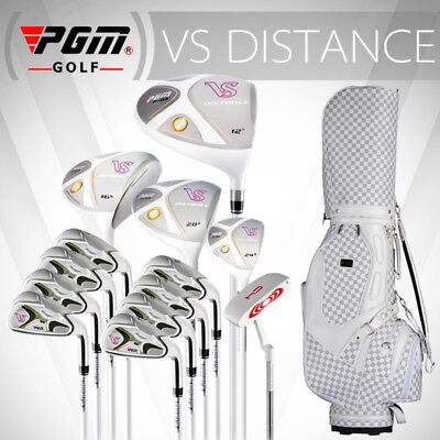 PGM Mens Ultimate 13-Piece Complete Golf Set with Bag Right Handed Stand Bag