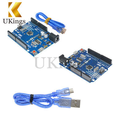 Newest Version ATMEGA328P-16AU CH340G Arduino UNO R3 With Micro USB Cable