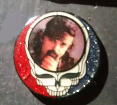 grateful dead style hat pin - Stained glass steal your face with Pigpen