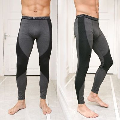 Men Slim Warm Pants Long Johns Winter Thick Thermal Underwear Trousers Plus 4XL