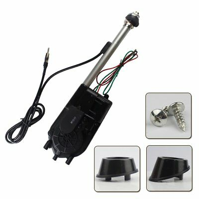 Universal Automatic Power Antenna Aerial Kit For Car Electric Radio Signal AM FM