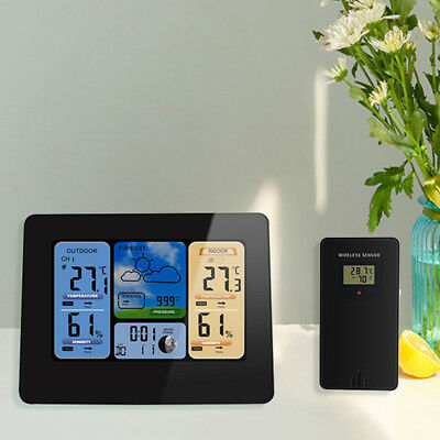 Weather Station Forecaster w/Temperature Humidity WIFI APP Smart Weather Station