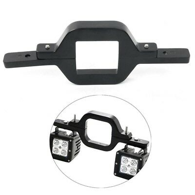 Dual LED Backup Reverse Work Light SUV Offroad Truck Tow Hitch Mounting Bra O3B2