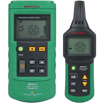 MASTECH MS6818 Wire Tracker Transmitter Network Telephone Cable Tester DHL NEU
