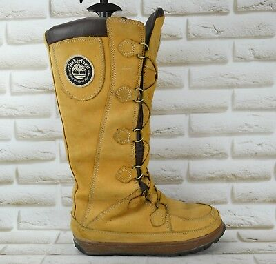 dc8a3f83449 TIMBERLAND Rugged Outdoor Womens Leather Mukluk Winter Boots Size 6.5 UK  39.5 EU