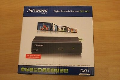 digital terrestrial receiver - strong - SRT 5302 - USB