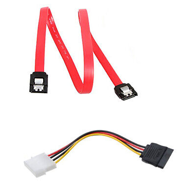 1Pc 4pin ide to 5 15pin sata splitter hard drive power cable cord 18AWG  FJBLUS