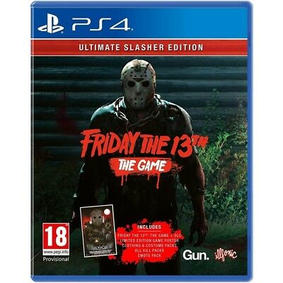 Friday The 13th The Game Ultimate Slasher Edition PlayStation 4 PS4 Brand New