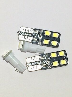 Nissan navara D22 ICE White Dash LED Bulbs & Ice White LED Side Light Bulbs