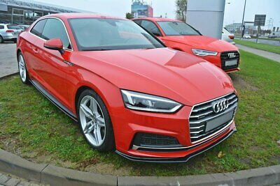 Cup Spoilerlippe V.1 Audi A5 F5 S-Line Carbon Look
