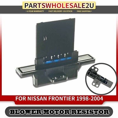 Blower Motor Resistor Control Module Compatible with Nissan 98-08 Frontier 95-99 Sentra 95-98 200SX 2715008001 271502M100 271502M105 271508B700 JA1211 973200 RU369 00-04 Xterra