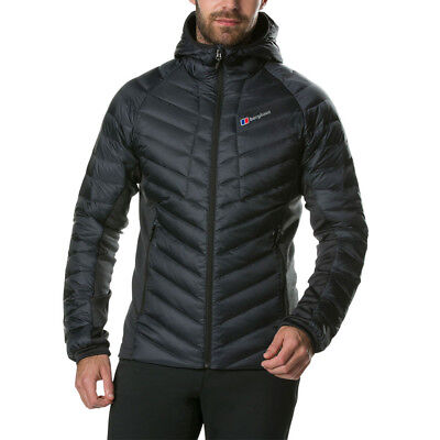 Berghaus Mens Tephra Stretch Reflect Down Insulated Jacket Top Black Sports