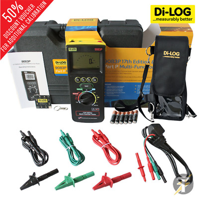 Di-Log 9083P Multifunction Tester + Di-Log DL1203 Harness & Carry Case
