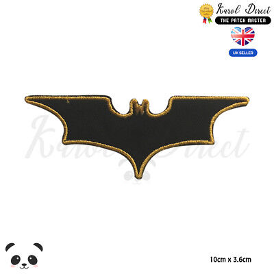 Batman Superhero Movie Embroidered Iron On Sew On PatchBadge For Clothes etc