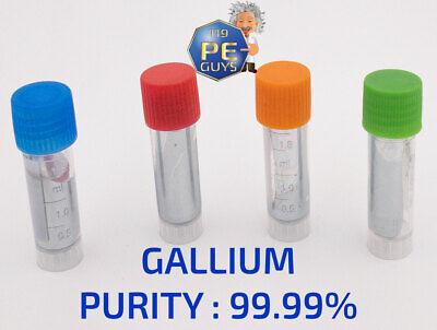 G allium Metal 99.99% pure element Ga melts in your hand. 10 - 50 Grams