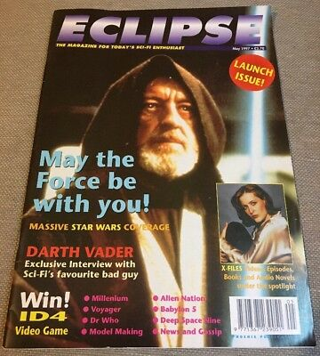 ECLIPSE The Magazine For Today's Sci-Fi Enthusiast - 1 Launch Issue May 1997