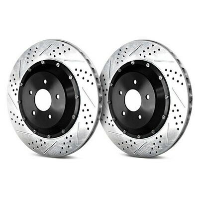 1pcs Drilled /& Slotted Brake Rotor 15712803 FOR GMC Sierra /& Chevy Suburban
