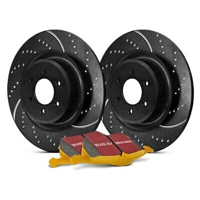FOR CADILLAC ATS 13-18 EBC Stage 5 Super Street Dimpled