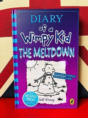 Diary of a Wimpy Kid: The Meltdown by Jeff Kinney (Hardcover 2018) Book 13 *NEW*