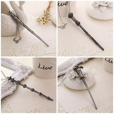 Harry Potter Hermione Dumbledore Lord Voldemort Magic Wand NECKLACE