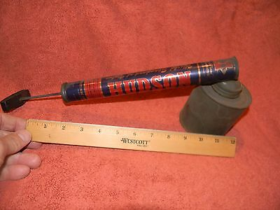 Vintage HUDSON BUG INSECT SPRAYER - Insecticide Pump Metal - Empty