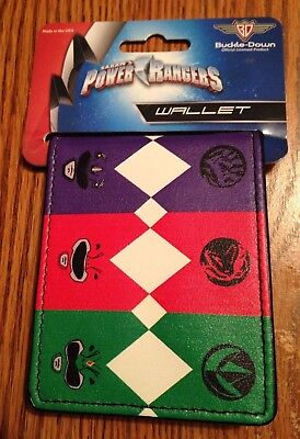Power Rangers Wallet New with Tags Bifold