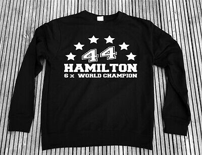 Lewis Hamilton 5x World Champion Sweater Formula1 F1 - Not Hoodie or t-shirt 44