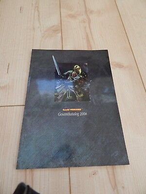 Games Workshop Gesamtkatalog 2006, Warhammer 40K, Space Marines, Elfen,Eldar