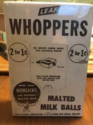 Vintage Whoppers Malted Milk Balls , 240 Count  Box