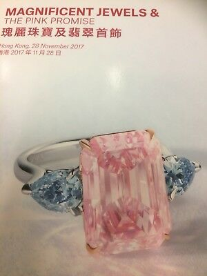 christies auction catalogue Magnificent Jewels & The Pink Promise Nov 2017