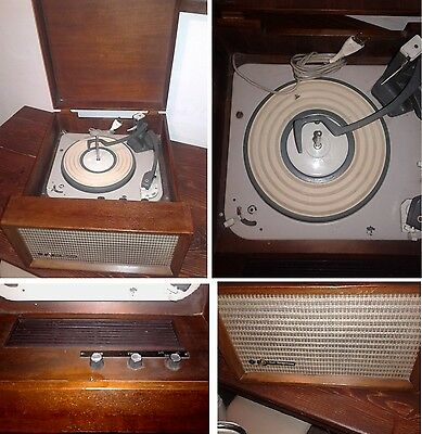 "Antica FONOVALIGIA giradischi ""BELL TELEPHONE"" - Antique record player"