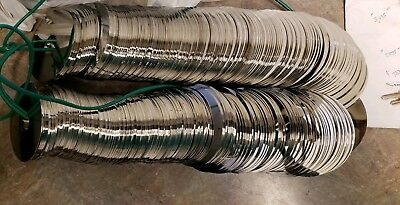 15lbs Hard Drive Platters  scrap metal recovery or crafts platinum