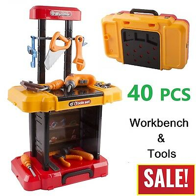 Toddler Boy Toy Children Workbench Tool Set Construction Learning Pretend Play