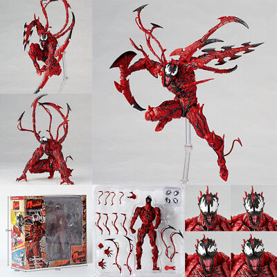Revoltech Series AMAZING Spider Man Carnage PVC Action Figure Gift Toy