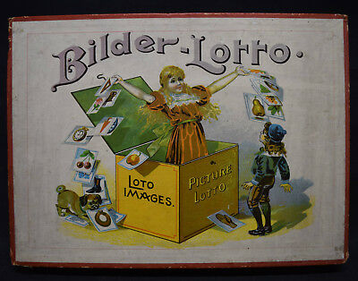 Bilder-Lotto - Picture Lotto - Legespiel -