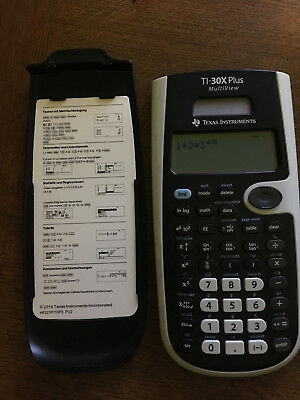 TI-30X Plus MultiView Texas Instruments TI 30 x Plus Multi View