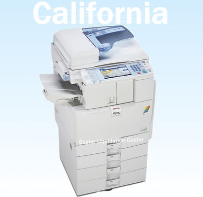 Ricoh MPC2551 Color Copier Scan Printer. Speed 25 ppm v Low Low Meter hz