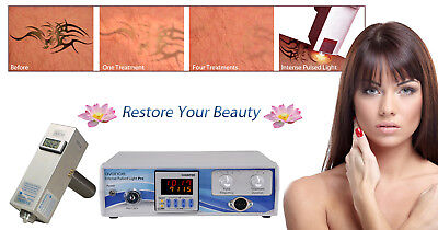 Salon Permanent Hair Removal System Beauty Skin Care Treatment Machine + Kit.